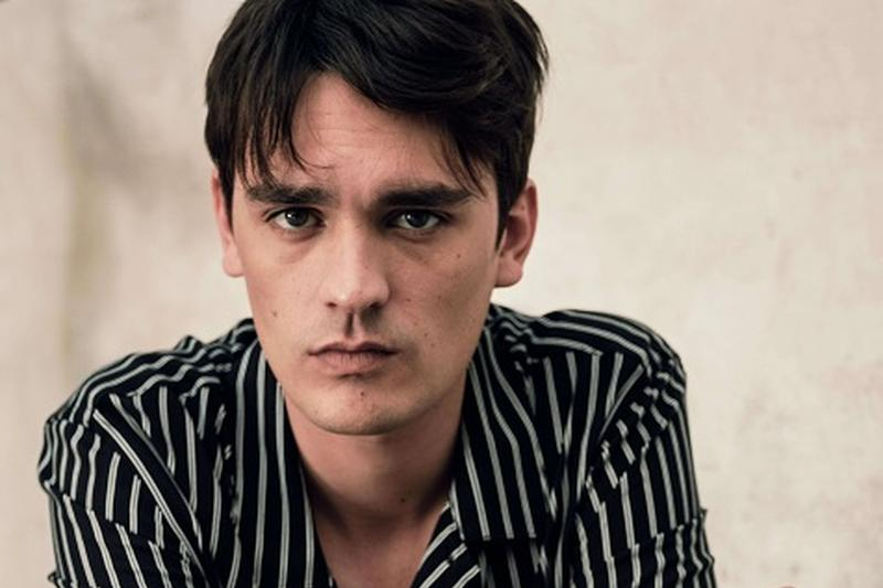 ALAIN FABIEN DELON, THE SON OF THE MOST FAMOUS LOOK IN FRENCH CINEMA, STARS IN THE NEW MANGO MAN EDITORIAL