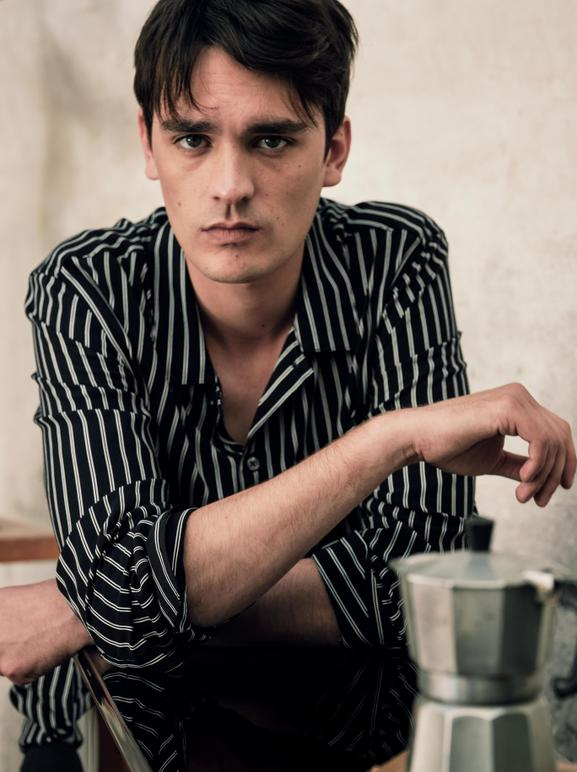 ALAIN FABIEN DELON, THE SON OF THE MOST FAMOUS LOOK IN FRENCH CINEMA, STARS IN THE NEW MANGO MAN EDITORIAL - 04