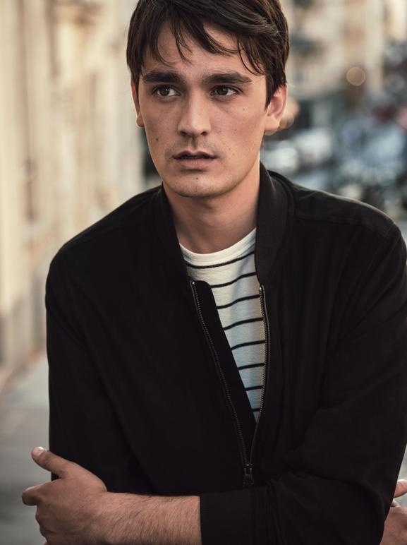 ALAIN FABIEN DELON, THE SON OF THE MOST FAMOUS LOOK IN FRENCH CINEMA, STARS IN THE NEW MANGO MAN EDITORIAL - 09