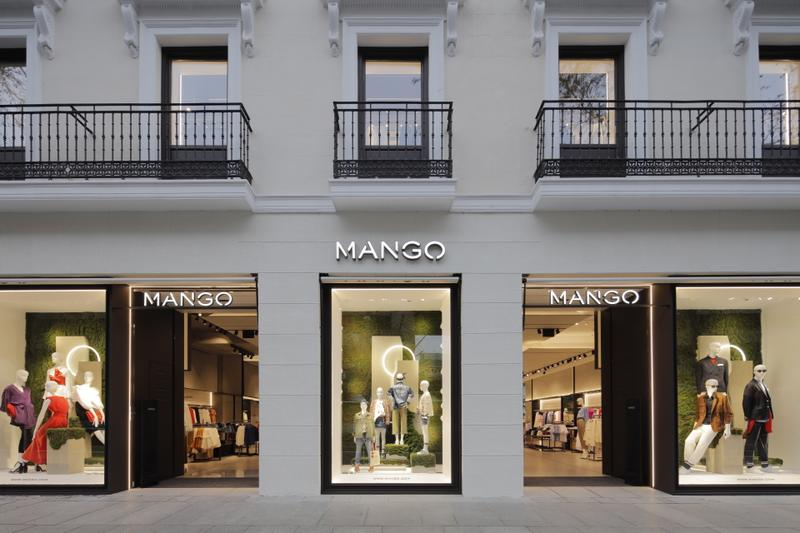 MANGO opens its new flagship store in Madrid's exclusive Serrano street