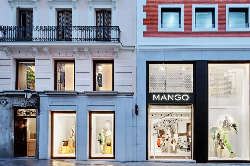 MANGO EXPANDS IN MADRID WITH THE OPENING OF ITS NEW MEGASTORE IN PRECIADOS STREET