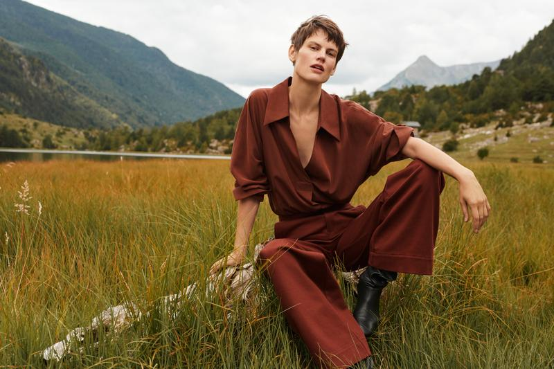 RECYCLED WOOLS AND NATURAL MATERIALS MAKE UP THE NEW MANGO COMMITTED COLLECTION
