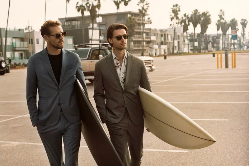MANGO MAN'S SS19 CAMPAIGN EMBODIES THE ESSENCE OF THE CALIFORNIAN SUMMER