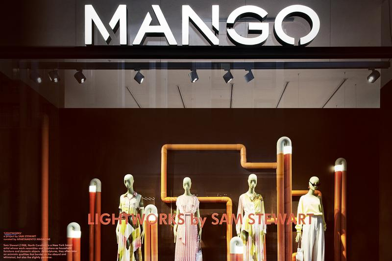 MANGO COLLABORATES WITH THE NEW YORK ARTIST SAM STEWART DURING THE SALONE DEL MOBILE IN MILAN