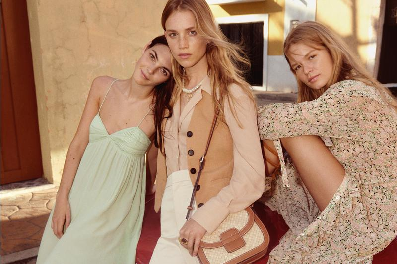 "THE MANGO SS20 CAMPAIGN CONTINUES THE ""SHARED MOMENTS"" CONCEPT, REFLECTING THE INTIMATE NATURE OF MOMENTS SPENT TOGETHER"