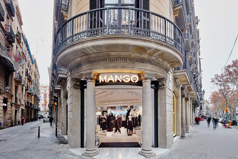 MANGO NOW HAS 135 STORES OPEN AND WILL HAVE MORE THAN 620 BY THE END OF APRIL